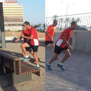 preparación física running