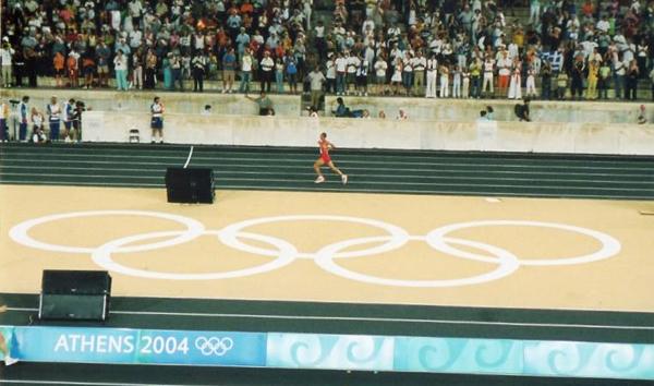 Toni Peña atletismo