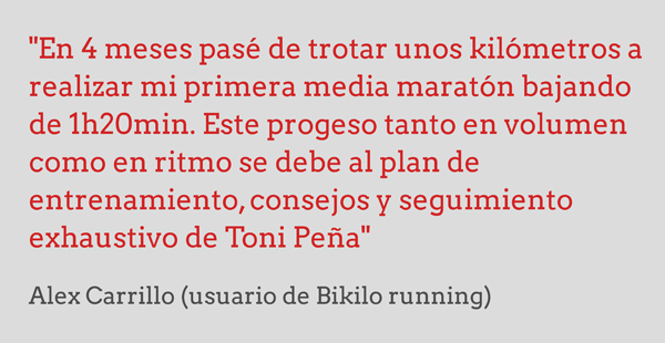 opinion plan entrenamiento