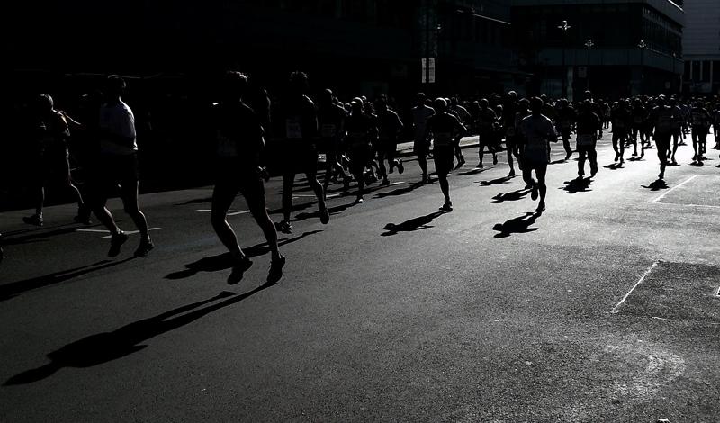 Uñas negras maraton