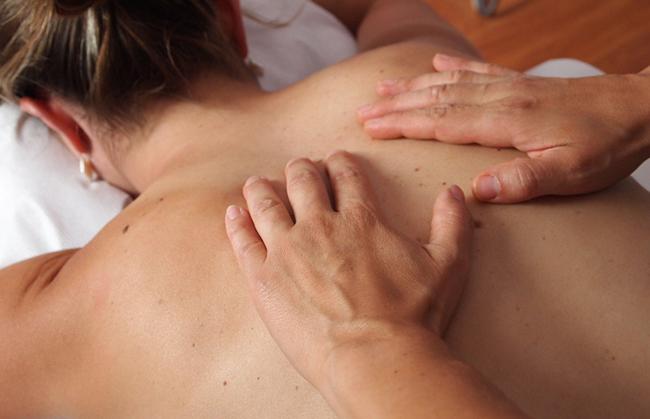 masaje descarga corredor
