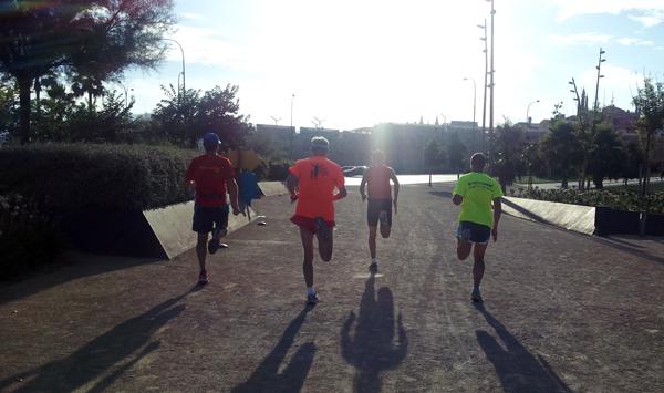 parar de correr en verano