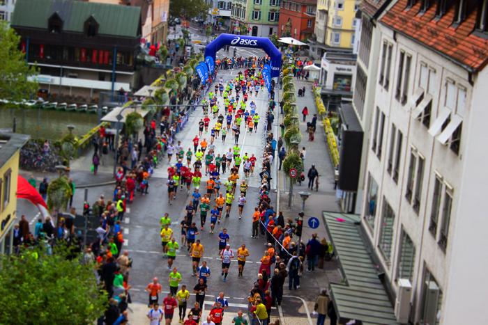 pinchar en maraton