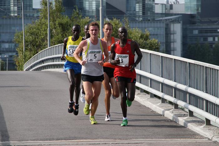 desfallecer en maratón
