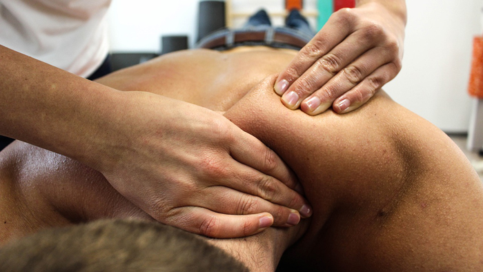 masaje de descarga según volumen