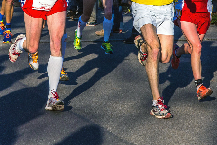 talonear al correr