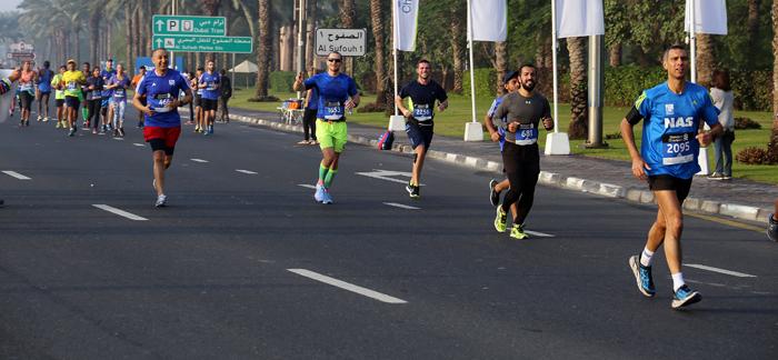 ritmo en maratón